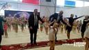Пинаев станцевал вместе с Глацких на турнире по художественной гимнастике в Нижнем Тагиле