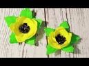 Цветы из фоамирана для начинающих мастер класс / Flowers from foamiran for beginners master class