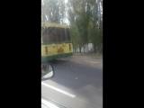 Задымился троллейбус в районе лтз