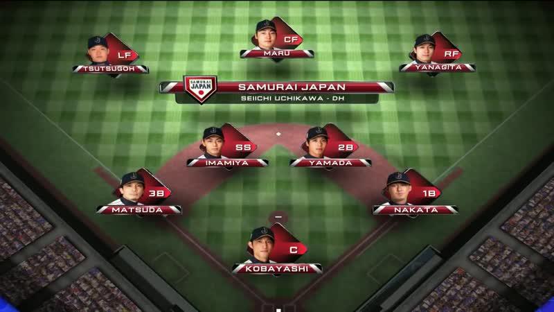 2014 MLB Japan All-Star Series. 16 ноября. Сборная МЛБ - Самураи Японии
