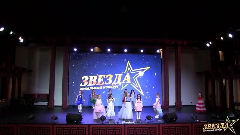 Показ коллекции концертных платьев Звезда сцены от бренда AnnGel дизайнер Анна Громова