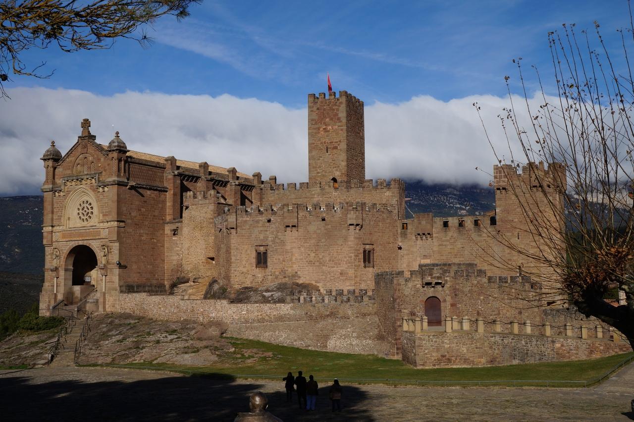 Замок Хавьер - образцовый испанский замок
