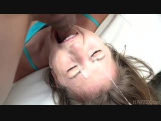 Paige owens 1st blowbang gonzo blowjob hardcore