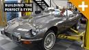 Jaguar E-Type Restomod Classic Car To Modern Masterpiece - Carfection