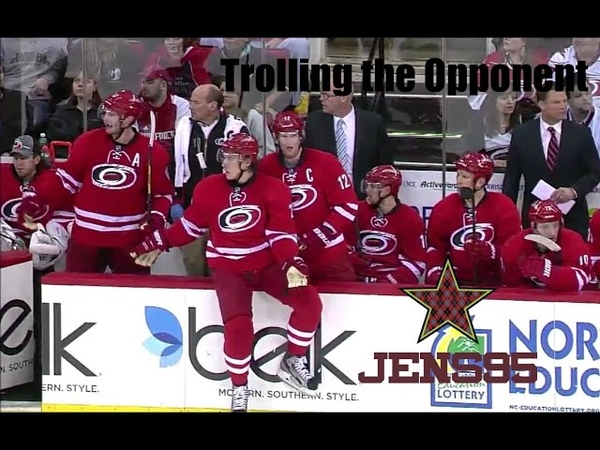 NHL Trolling the Opponent