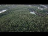 Взгляд на гору Каравай с высоты 250 м