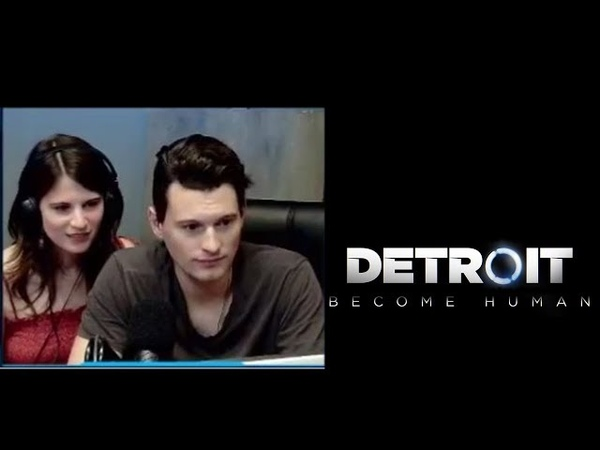 Bryan Dechart(Connor) и Amelia Rose(Traci) играют в Detroit