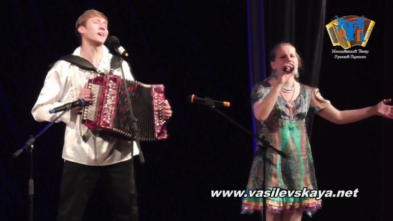 Ангелина Василевская - Ой, то не вечер (Новочебоксарск)