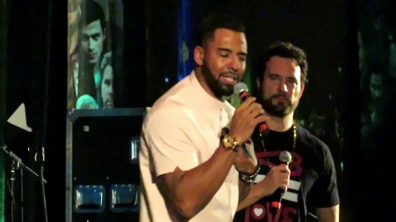 Christian Keyes 1st SPN Karaoke Appearance (SPNpitt Con 2018)