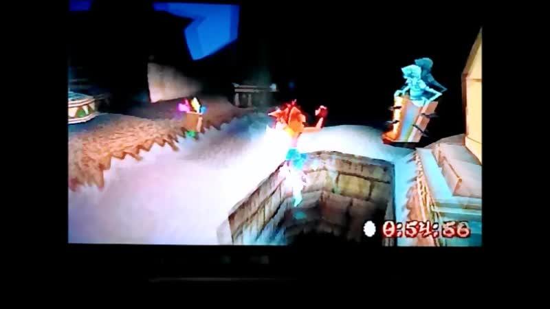 Crash Bandicoot 3: Warped (PAL-version) Time Trial Bug Lite 1:00:56. PB. Maybe the final version)