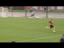Жесткий подкат Кевина Де Брейне на тренировке сборной Бельгии