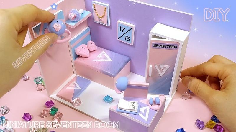 [DIY IDOL ROOM - SEVENTEEN] 아이돌방 8탄!! 세븐티인~ 아낀다 요즘말야 ~ 내가말야 세븐틴 방을 만들어 봅시다