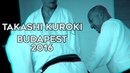 Takashi Kuroki seminar Budapest 2016