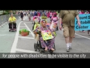 WATCH: LINK20 was proud to march with 10,000 people with and without disabilities at the 2018 Disability Pride Parade in NYC!