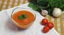 Томатный суп пюре с кабачком