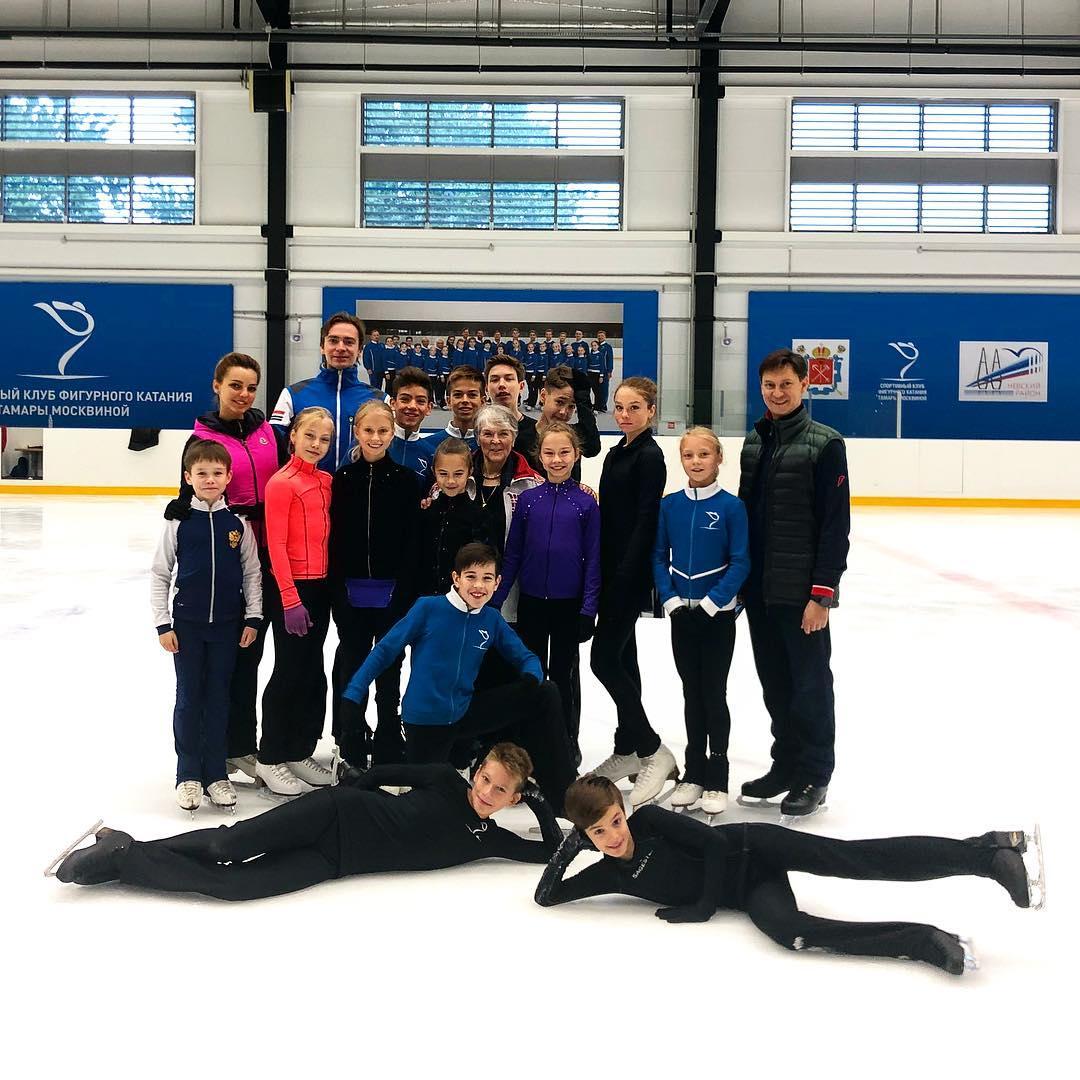 Группа Дайнеко - Школа фигурного катания Москвиной (Санкт-Петербург) Gt1LlO0QsIc