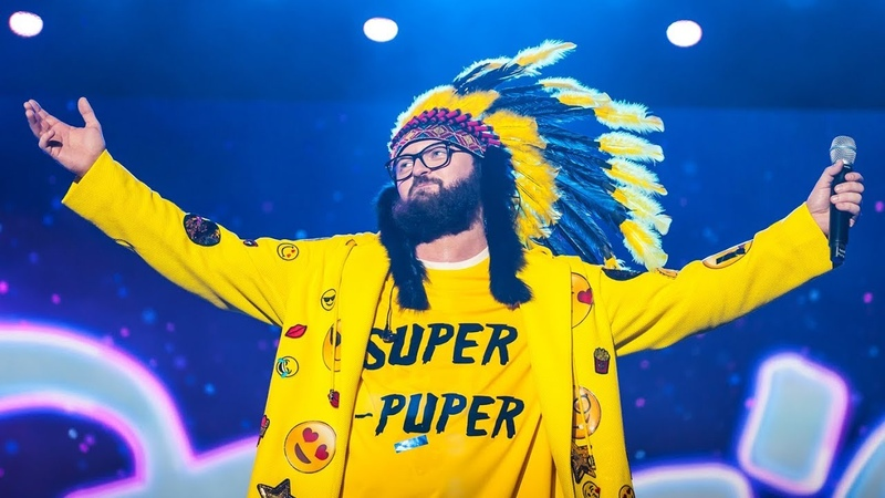 Мега шоу DZIDZIO SUPER-PUPER на Арені Львів (26.05.2018)