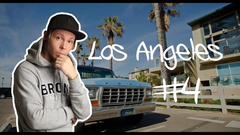 4. Лос Анджелес - Санта Барбара / США - коротко что успел снять - Мобильная поездка