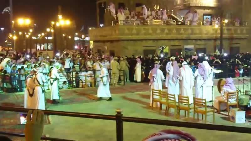 Traditional Saudi Sword Dance - Al Ardha