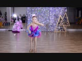 #мегадэнс 23.12.2018 Наша Алиса - звезда