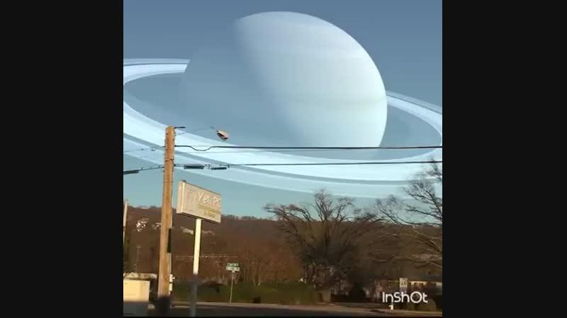Если бы планеты находились к Земле так же близко как Луна