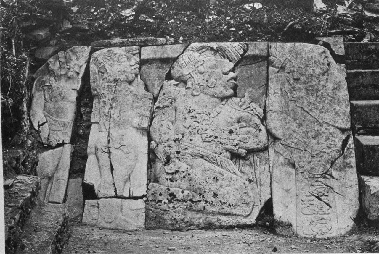 паленке руины 19 век