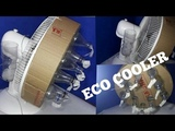 How To Make Eco Air Cooler With Normal Table Fan And Plastic Bottles At Home