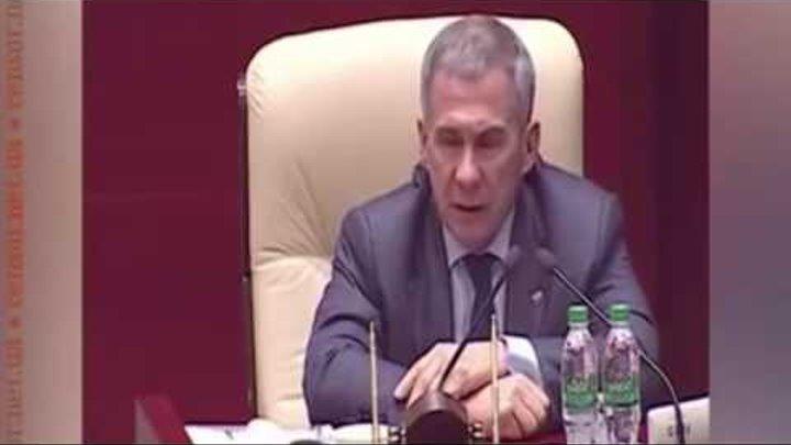 Срочно! Татары взбунтовались! Президент Татарстана Рустам Минниханов недоволен политикой Москвы.