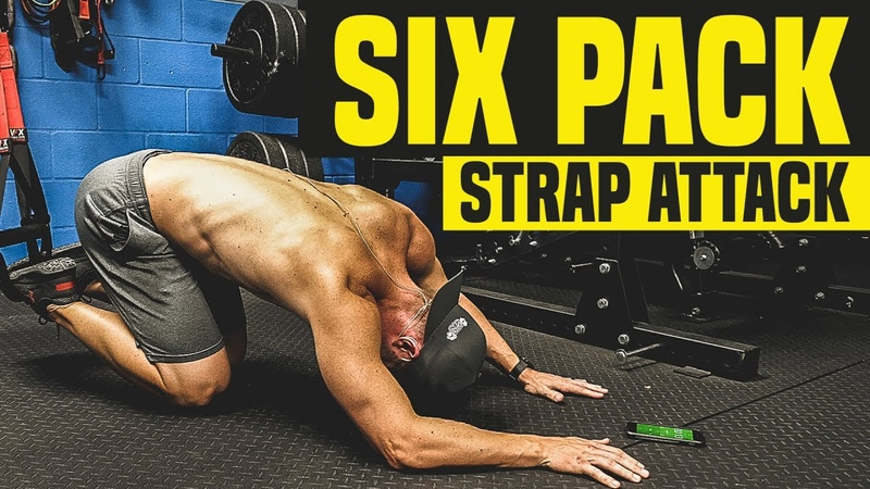 STRONG CORE 3-Minute Suspension Strap Challenge (SIX PACK Workout)