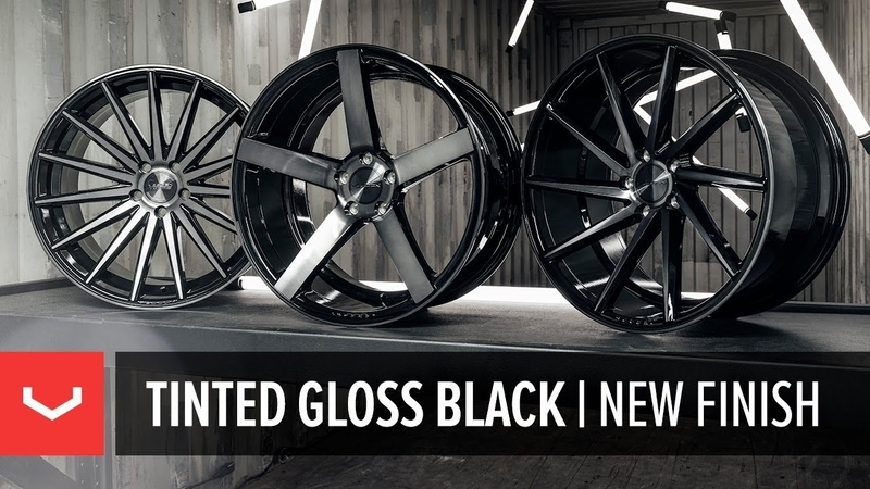 Tinted Gloss Black | Vossen's all-new finish | CVT, CV3-R and VFS-2
