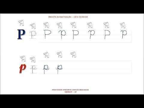 Aula 16 Libras Leitura e escrita do alfabeto Língua Portuguesa