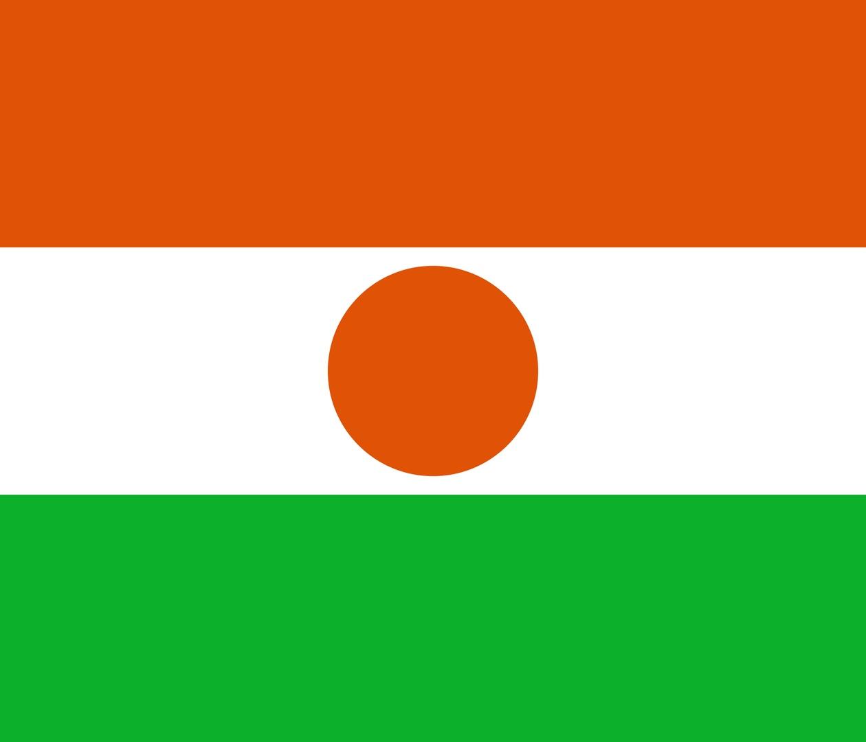 Флаг Нигер