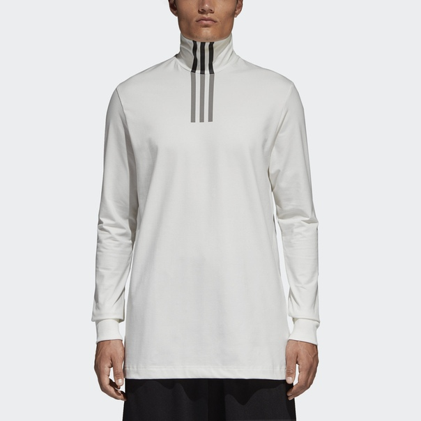 Футболка Y-3 High Neck 3-Stripes