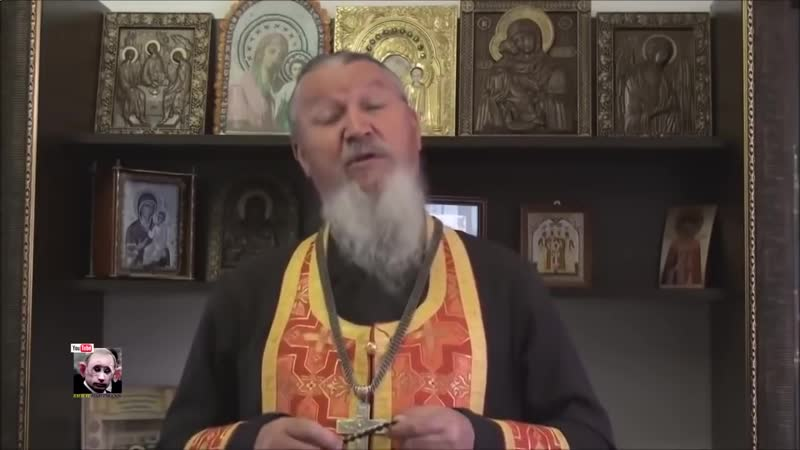 Анекдот от смелого священника про Путина.