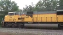 Rare TWO SD90MAC Engines on NS Train