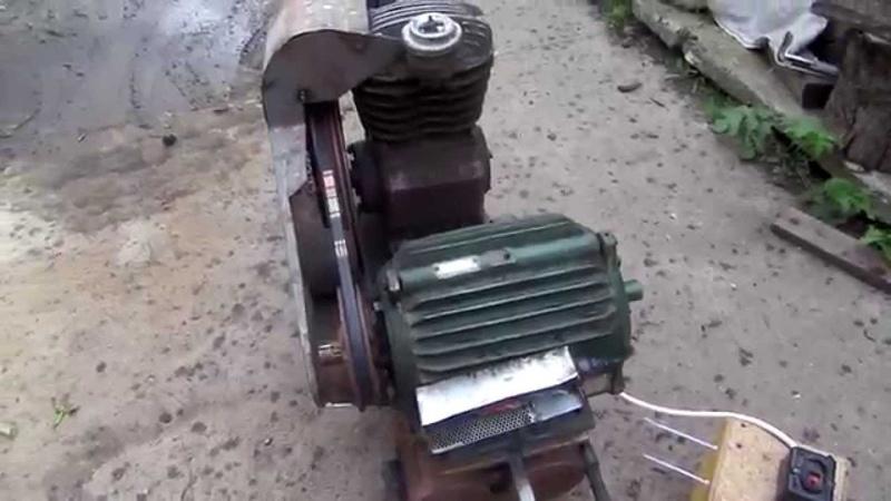 компрессор СО 7Б от 220 вольт