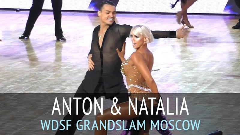 Антон Алдаев Наталья Полухина   Ча-ча-ча   2018 GrandSlam Latin в Москве