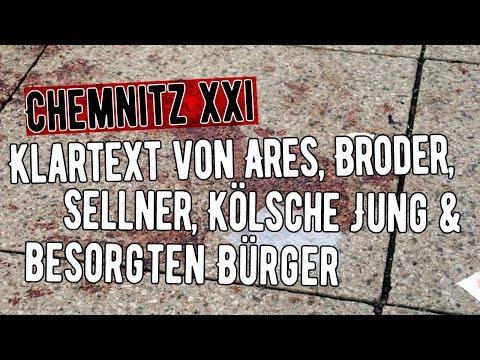 Chemnitz: Best of-Klartext von Ares, Broder, Sellner, Kölsche Jung besorgten Bürger