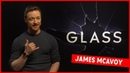 It wasn t meant to be good! James McAvoy talks getting buff and singing Drake in Glass