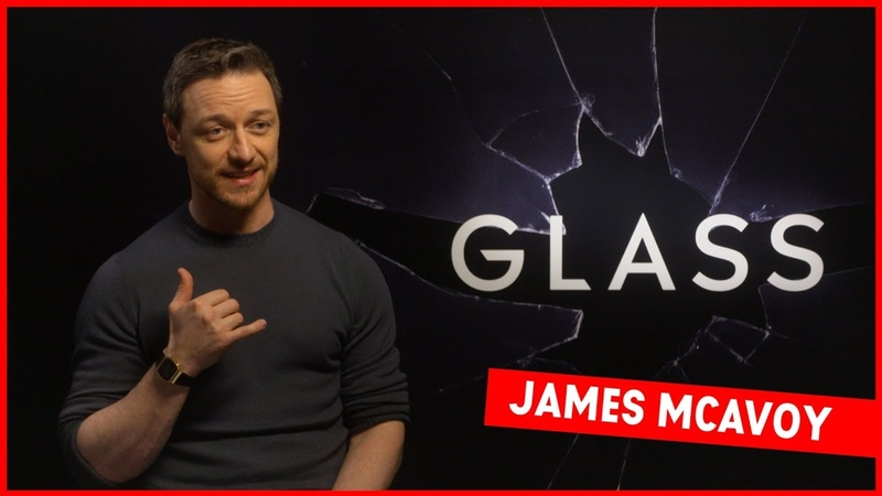 It wasn't meant to be good!': James McAvoy talks getting buff and singing Drake in Glass