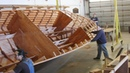 Amazing Time Lapse Wooden Big Boat Build Process - Awesome DIY Project Wooden Boat