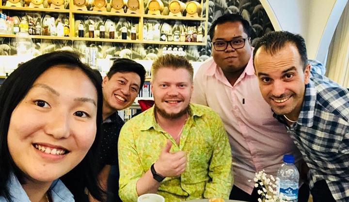 Кофейный рынок в Сингапуре