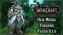 Tyrande Whisperwind with Dark Eyes - Tides of Vengeance Patch 8.1.0
