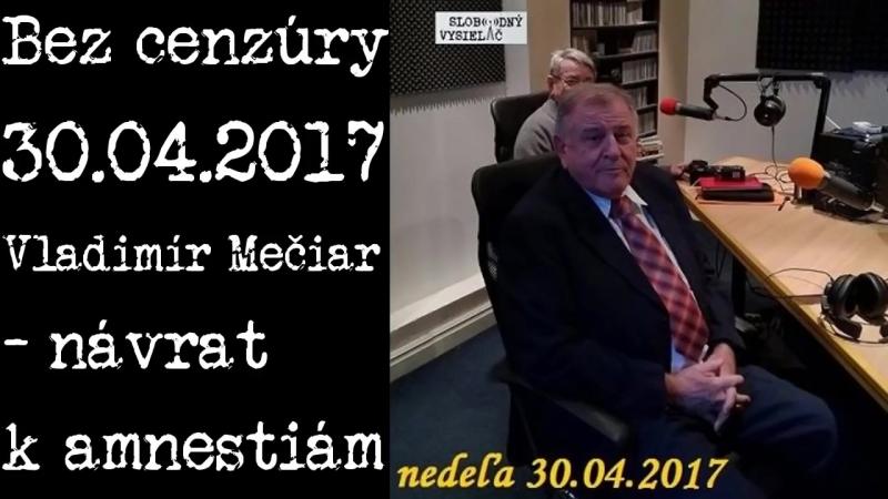 Soros pomohol poraziť Mečiara Šimečka Smatana Mečiar