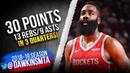 James Harden Full Highlights 2019.04.07 Rockets vs Suns - 30 Pts, 13 Rebs, 9 Asts!   FreeDawkins