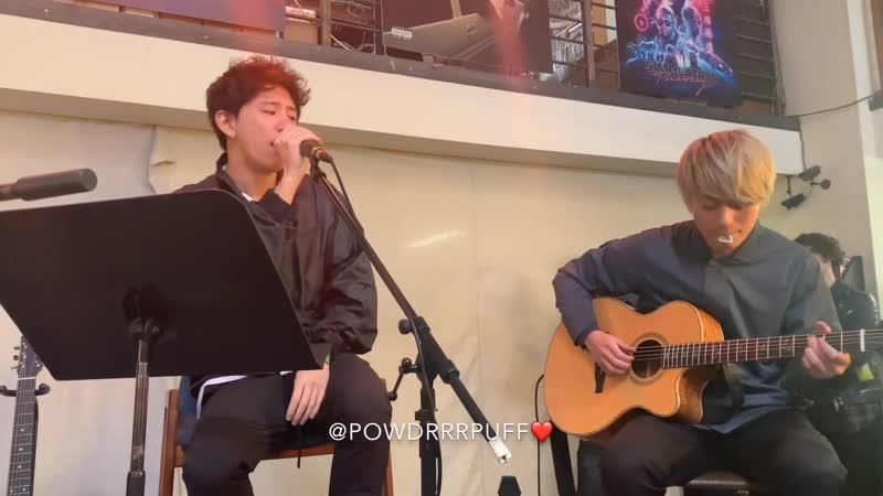 ONE OK ROCK Head High acoustic perfomance in LA