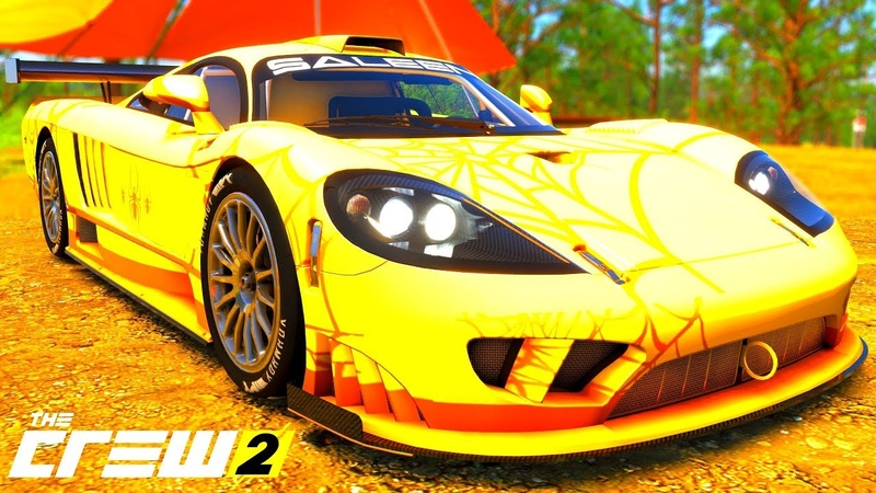 THE CREW 2 GOLD EDiTiON (TUNiNG) SALEEN S7R PART 339 ...