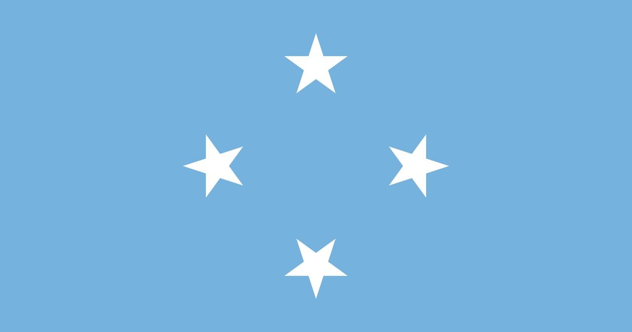 Флаг Федеративные штаты Микронезии