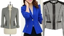SLIM FIT LONG SLEEVES JACKET/OVER COAT/BLAZER/UPPER FOR GIRLS