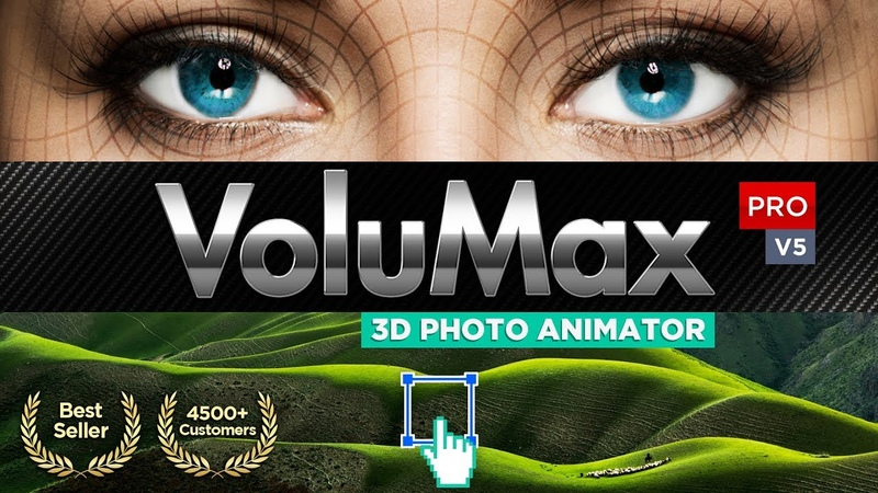 VOLUMAX - 3D Photo Animator - V5 Pro | After Effects Template